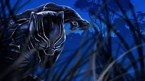 black panther artwork hd
