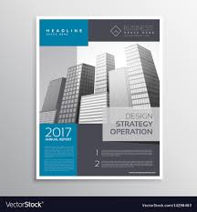 Brochure Templates For It Company Company Leaflet Brochure Template Design In A4