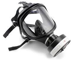 full face gas mask large field of chemical spray painting single tank activated carbon