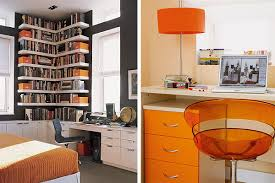 Orange home office Whole Family View In Gallery Orangehomeofficeinteriors3jpg Trendir Orange Home Office Interiors