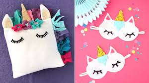 diy ideas with unicorns cute and easy diy projects for unicorn wall and