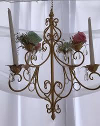 elegant shabby chic baby shower decoration chandelier