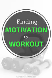 Finding Motivation To Workout