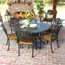 outdoor dining sets for 8. 9 Piece Patio Dining Set Cast Aluminum 7 New Square Outdoor Table Furniture  For 8 Sets .
