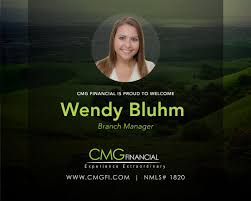 """CMG Financial on Twitter: """"Welcome Wendy Bluhm, branch manager,  #MontereyCA! https://t.co/IE2TBNocHK #TeamCMG… """""""