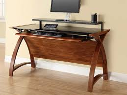 contour 1300 computer desk in walnut furniture with regard to computer desks factor to consider in ing computer desks for home office