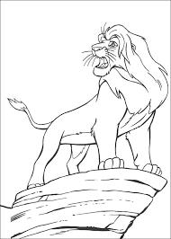 Disegni Da Colorare Il Re Leone 3