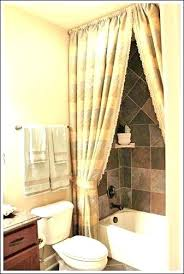 shower curtain decorating ideas long bathroom to help you create your own o67 decorating