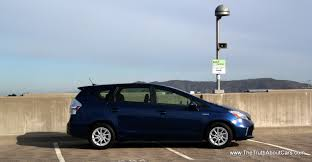 2012 Toyota Prius v, Exteruior, side, Photography courtesy of Alex ...