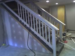 basement stairs railing. What To Do With Basement Stairs Railing A