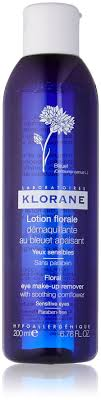 klorane eye make up remover with soothing cornflower