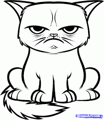Small Picture Free Printable Cat Coloring Pages Cat Coloring Pages In Animals