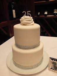 Cake Decorating Ideas For 25th Wedding Anniversary Flisol Home