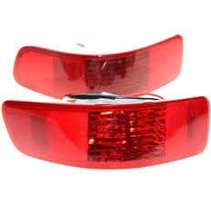 LARBLL Pair <b>Rear Bumper Right Left</b> Tail Fog Light Lamp Fit for ...