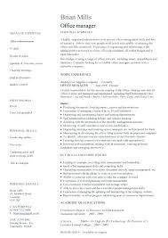 Back Office Resume Sample Back Office Resume Examples Sample Resumes