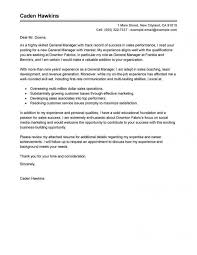 Super Idea General Cover Letters 9 Leading Professional Manager Of