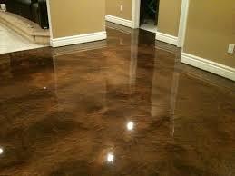 image of basement floor paint ideas