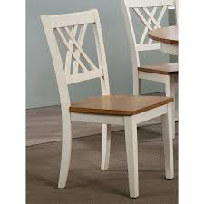 x back dining chairs. Iconic Furniture CH56-CL-BI Double X-Back Dining Chair Caramel Biscotti X Back Chairs