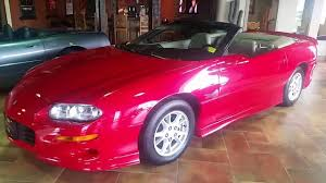2001 Chevrolet Camaro Bright Red Z28 Convertible - YouTube