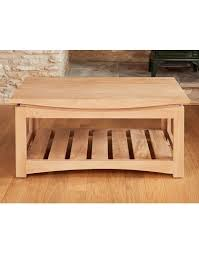 roscoe contemporary oak coffee table designer furniture ltd designer furniture ltd