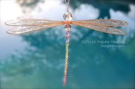 large dragonfly sun catcher inspirational dragonfly gifts