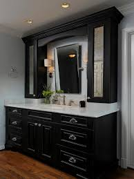 black bathroom vanity. black bathroom cabinets with white counters design, pictures, remodel, decor and ideas - page 3 | favorite places \u0026 spaces pinterest counter vanity