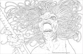 Coloring Pages Coloring Pages Harry Potter Magicalreatures Book