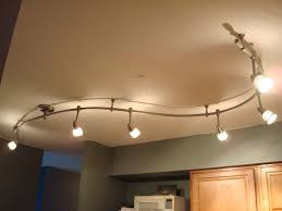 using track lighting fixtures for your house replace fluorescent light fixture with dining awesome