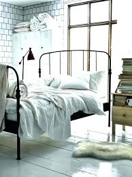 A Pretty New Metal Bed Home Bedroom Beds And Farmhouse Frame ...