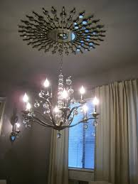 Mirrored Ceiling Medallions