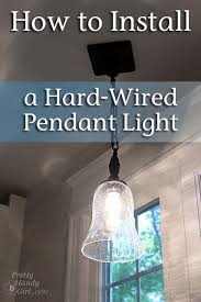 how to install pendant lighting. how to install a hardwired pendant light lighting