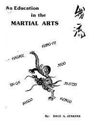 education in the martial arts pdf