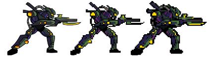 Pixel Character Template Pixelator