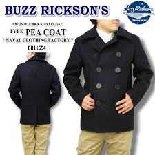 buzz rickson s バズリクソンズ type pea coat naval clothing factory br11554