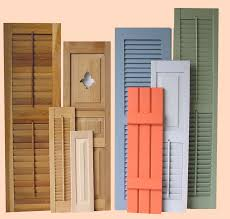 Exterior Wood Shutters  Exterior Gallery - Exterior shutters dallas