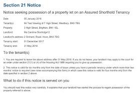 free section 21 notice mudhut