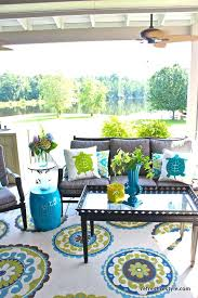 lime green outdoor rug pretty summer outdoor patio space in aqua blue and green love the lime green outdoor rug