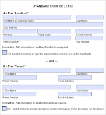 Rental Template Excel Lease Agreement Templates Word Excel Formats