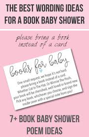 Book Baby Shower Invitations Wording Ideas Cutestbabyshowers Com