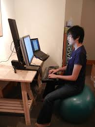 awesome laptop desk setups google search desktop geek with regard to laptop desk setup