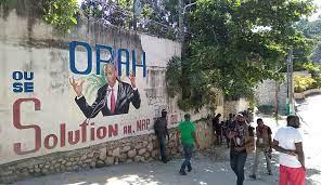Slain Haitian leader's widow blames ...