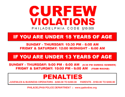 Fight against and for teen curfew