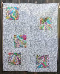 Create a Deco Foil Coloring Book Quilt - Therm O Web &  Adamdwight.com
