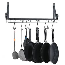 new wall iron kitchen pot rack with 10