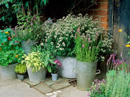 Small Picture Container Garden Designs Container Garden Plantings Bring Life