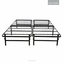 Amazon STRUCTURES Foldable Bed Base Platform Bed Frame and