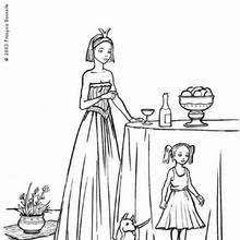 Small Picture Princess tea party coloring pages Hellokidscom