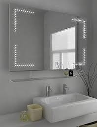 illuminated cabinets modern bathroom mirrors. Sarantos Demister LED Mirror Cabinet With Sensor, Pad And Shaver  Socket Size: X Mm Product Code: Illuminated Cabinets Modern Bathroom Mirrors L