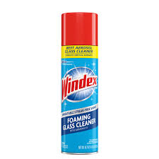 windex foaming glass cleaner aerosol 19 7oz
