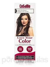 Nice N Easy Light Ash Brown Non Permanent Cosamo Love Your Color Non Permanent Hair Color 775 Light